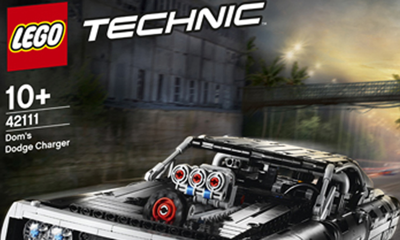 LEGO Technic Dom's Dodge Charger (42111) Set Images Released