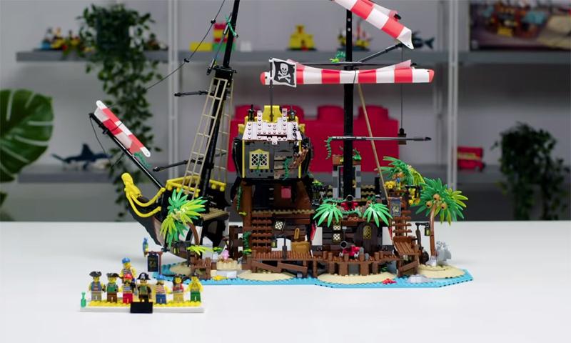 WATCH: LEGO Ideas Pirates of Barracuda Bay Designer Video