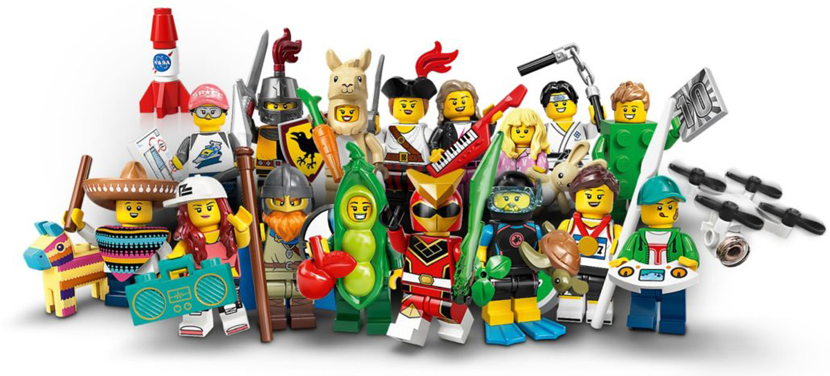 1st Edition The Classic Castle LEGO Minifigure Catalog