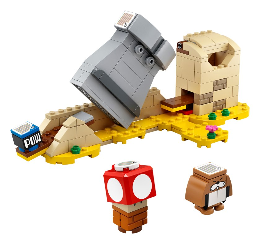 LEGO Super Mario Monty Mole & Super Mushroom