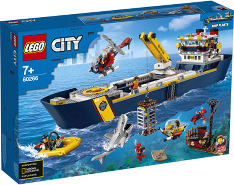 LEGO and National Geographic Team Up for This Latest Collection of LEGO City Summer 2020 Sets