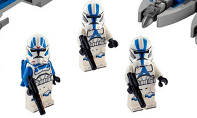 Surprise! LEGO unveils the LEGO Star Wars 501st Legion Clone Troopers (75280)