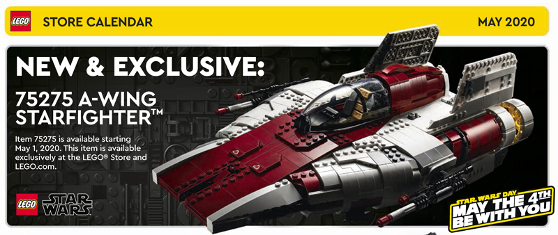 May 2020 LEGO Store Calendar Highlights and More