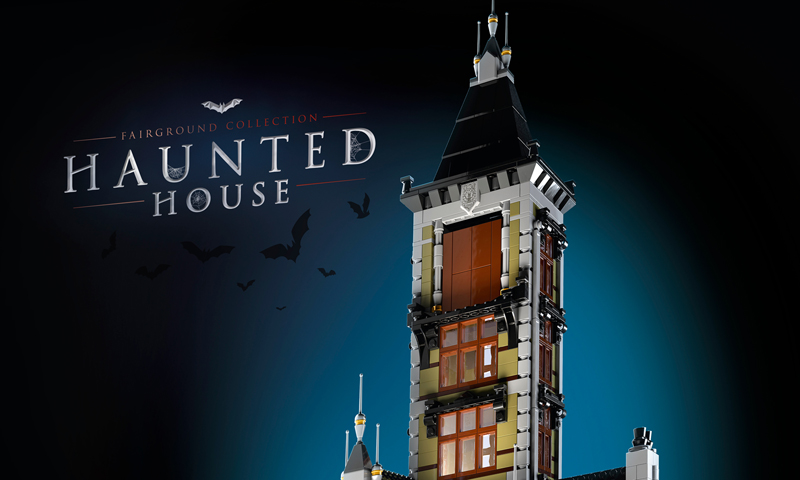LEGO Creator Expert Haunted House (10273) Officially Revealed
