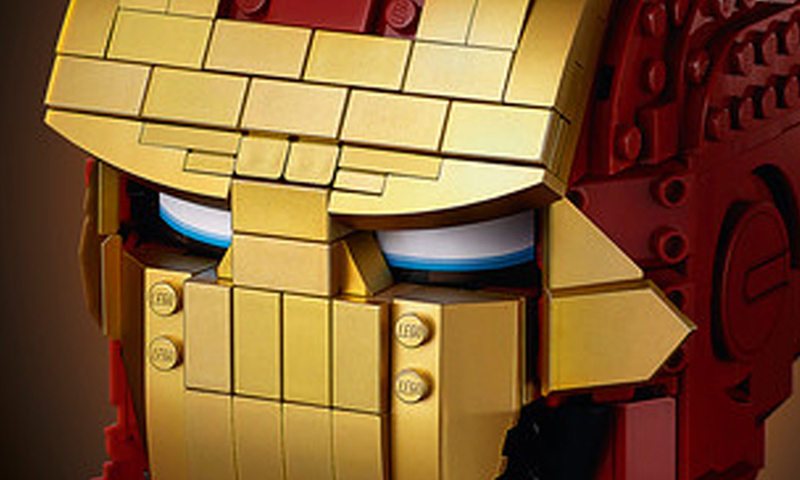 A Look at the LEGO Marvel Iron Man Helmet (76165)