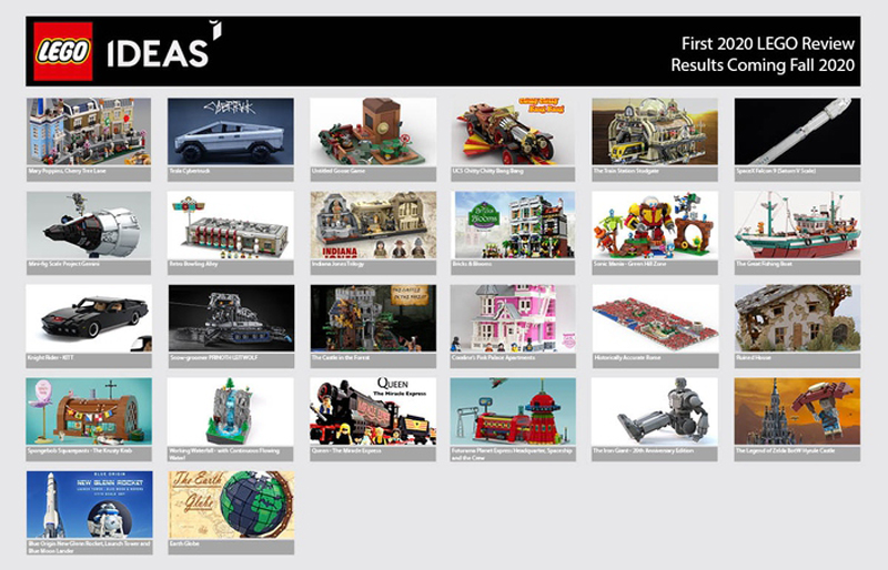First 2020 LEGO Ideas Review