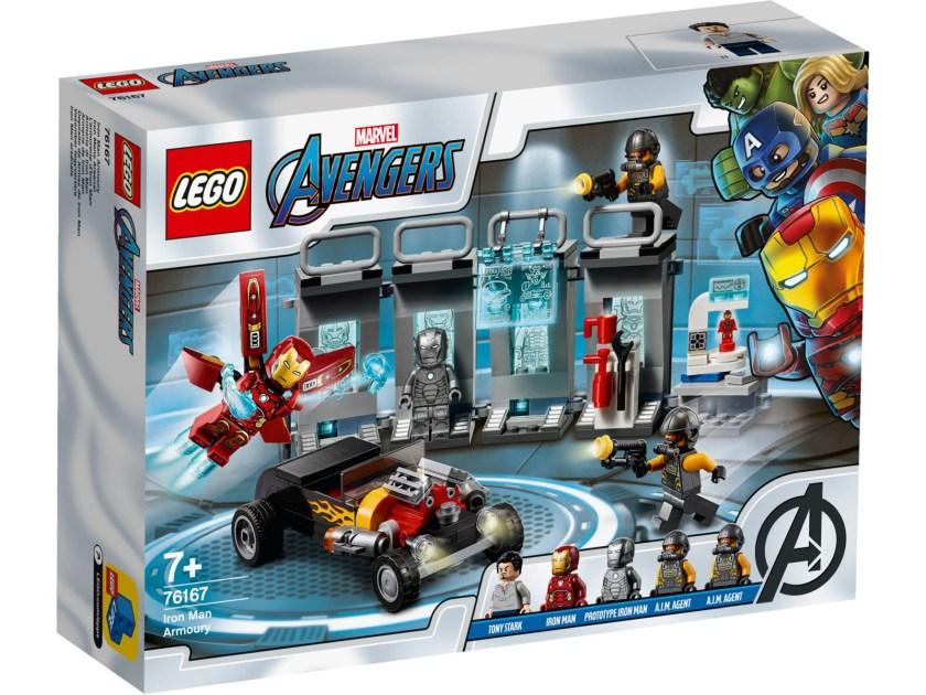 LEGO Marvel Avengers Iron Man Armory (76167)