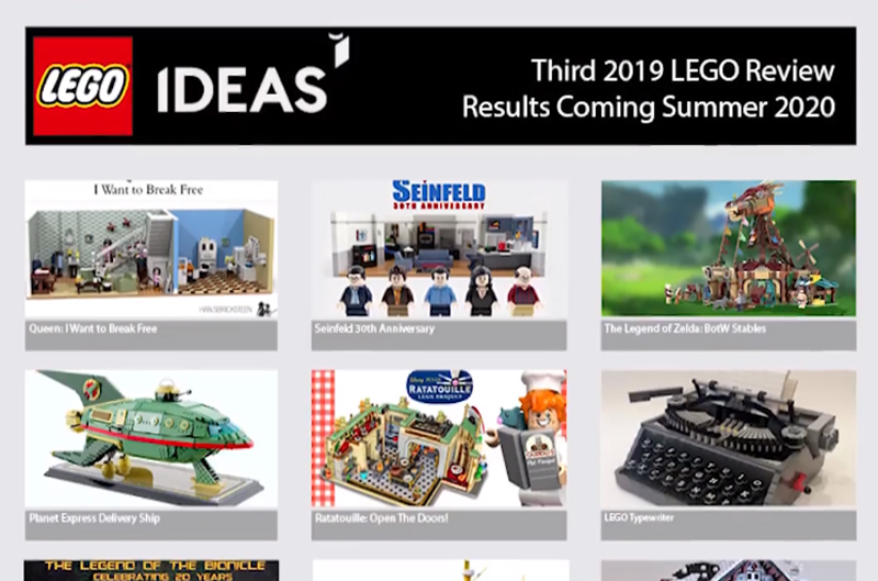 LEGO Ideas Third 2019 Review Results