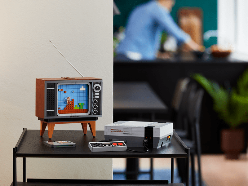 LEGO Nintendo Entertainment System (71374) Officially Revealed
