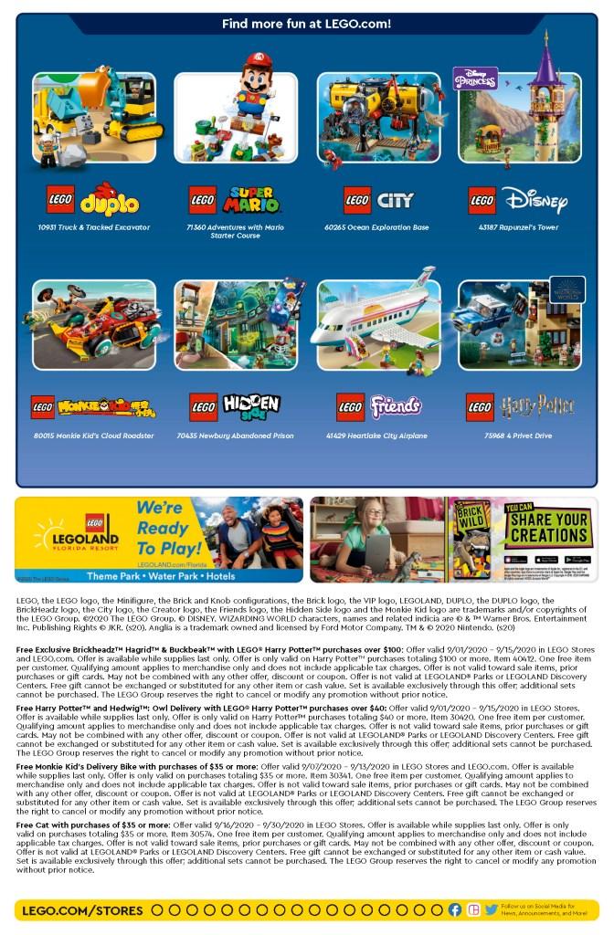 Lego Calendar September 2022.Lego Store Calendar Archives The Brick Show