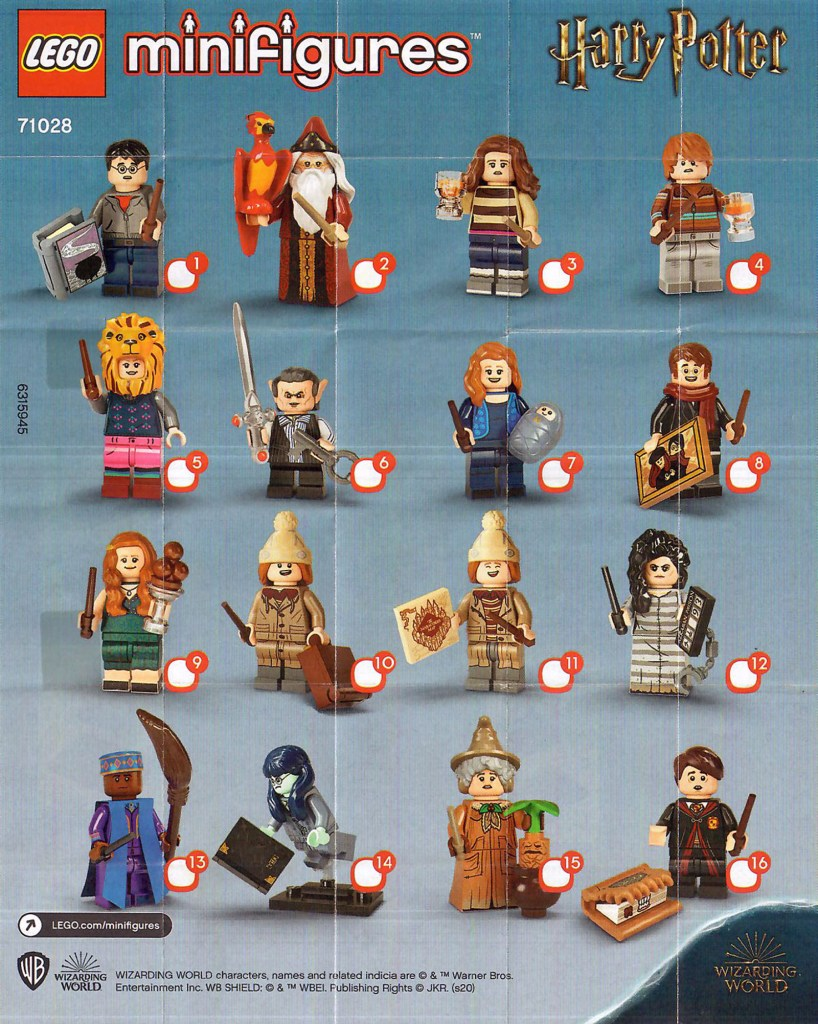 LEGO Harry Potter CMF Series 2