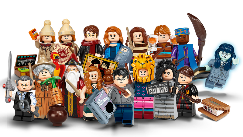 LEGO Harry Potter Series 2 Ginny Weasley with Ice Cream and Extra Yellow Cape