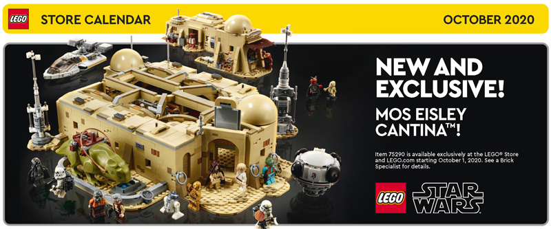 Check Out the LEGO Freebies in the October 2020 LEGO Store Calendar