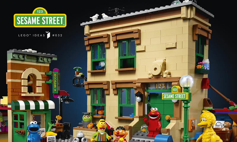 LEGO Ideas 123 Sesame Street (21324) Officially Revealed