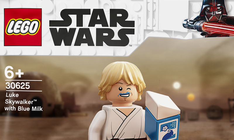 New LEGO Star Wars Luke Skywalker with Blue Milk (30625) Polybag Revealed