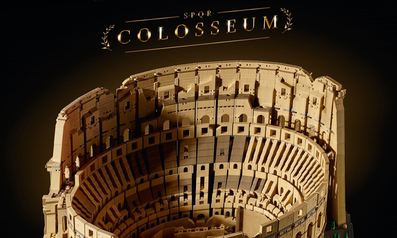 LEGO Creator Expert Colosseum (10276) is THE Largest LEGO Set Ever Released