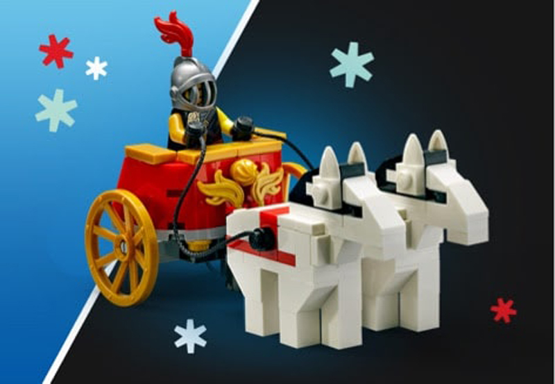 LEGO Chariot (5006293) To Be Offered as a Promotional Item for the LEGO Creator Expert Colosseum