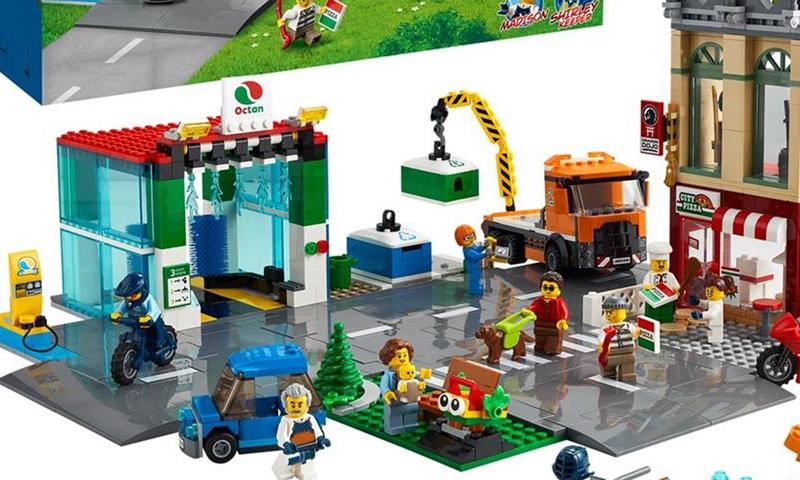 LEGO City 2021 H1 Set Images Revealed