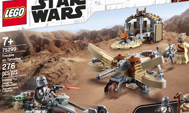 LEGO Star Wars Trouble on Tatooine