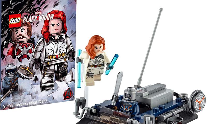 Lego Marvel Avengers Black Widow Taskmaster/'s Ambush 77905 SDCC Exclusive 2020