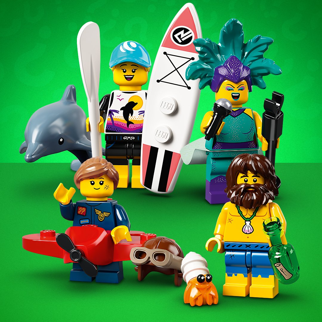 LEGO Collectible Minifigures Series 21 (71029) Revealed!