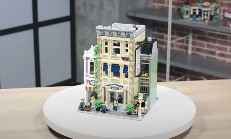 WATCH: LEGO Creator Expert Police Station (10278) Designer Video