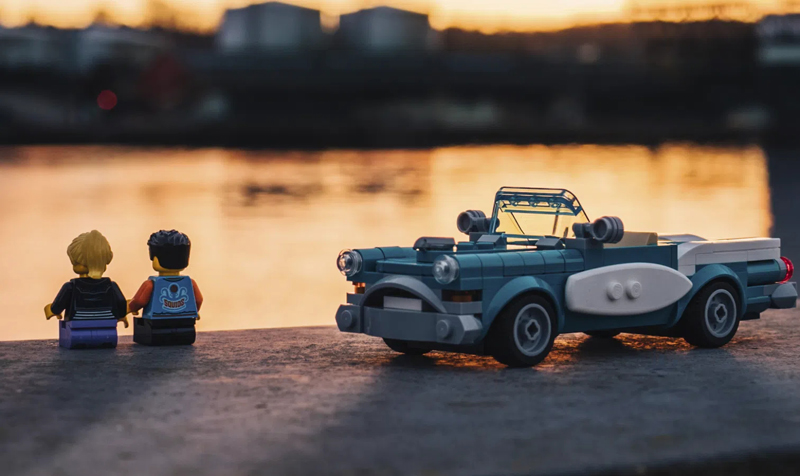 LEGO Officially Introduces the LEGO Ideas Vintage Car (40448)