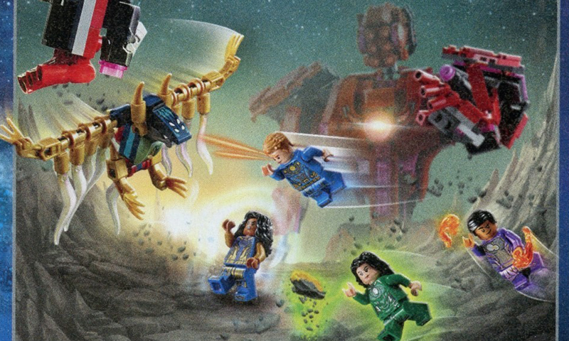 A Sneak Peek at the Upcoming LEGO Marvel Superheroes Eternals Sets