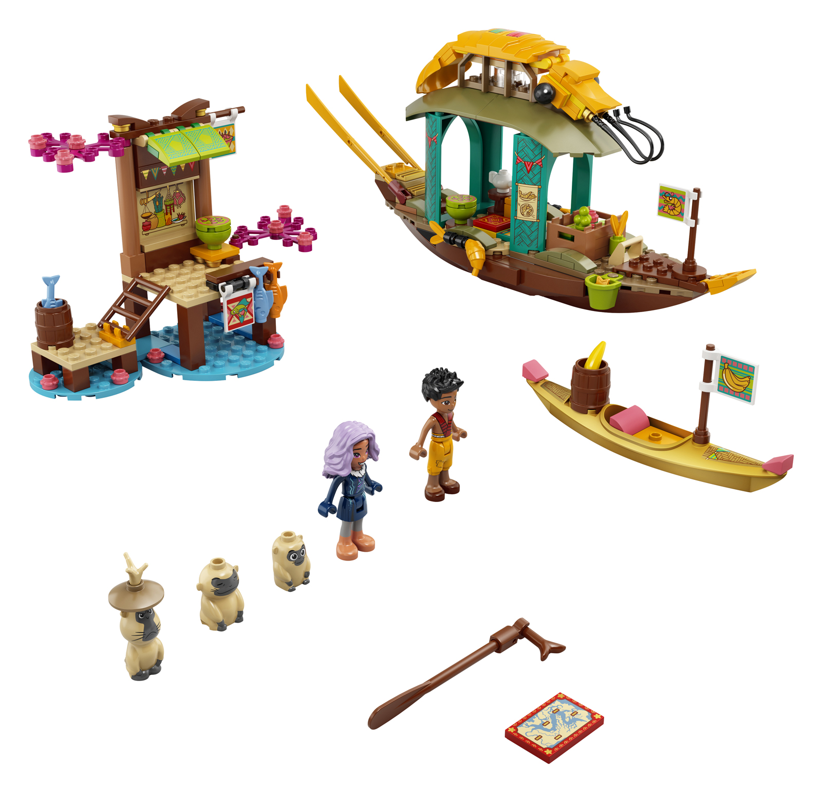 LEGO Disney Raya and the Last Dragon Sets Officially Announced