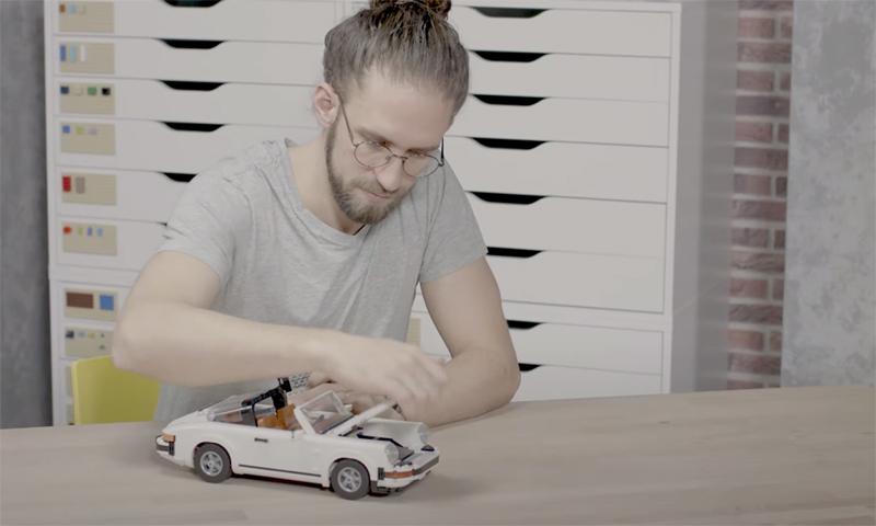 WATCH: LEGO Creator Expert Porsche 911 (10295) Designer Video