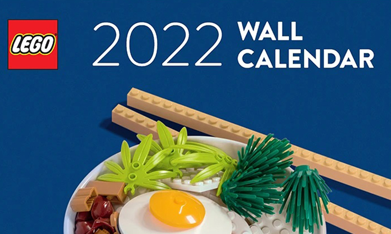 ICYMI: You May Want to Pick-Up This 2022 LEGO Wall Calendar
