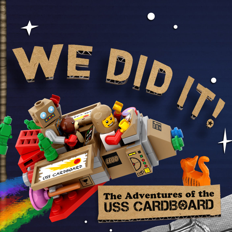Adventures of the USS Cardboard