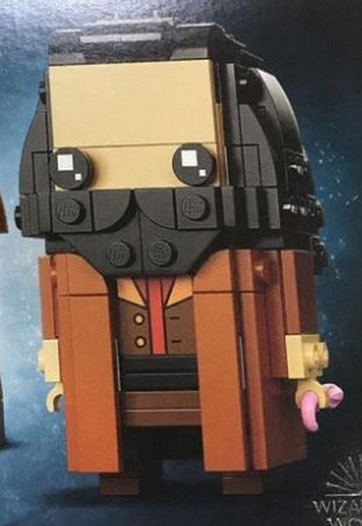 LEGO brickheadz hagrid