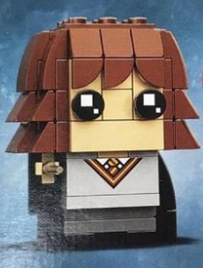 LEGO brickheadz hermione