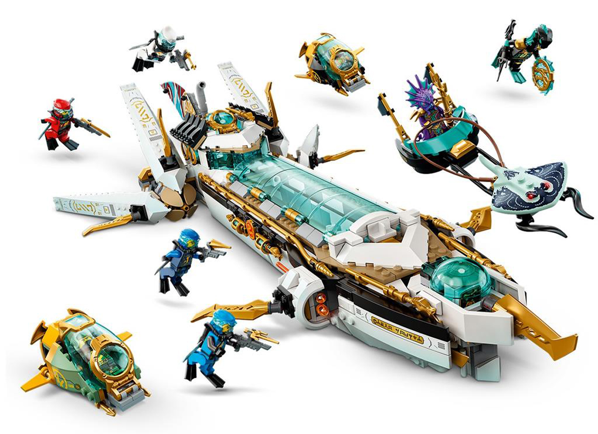 """LEGO Has New Trailer for April-Premiered """"Ninjago"""" Season 14 """"Seabound"""" (With Set Scenes)"""