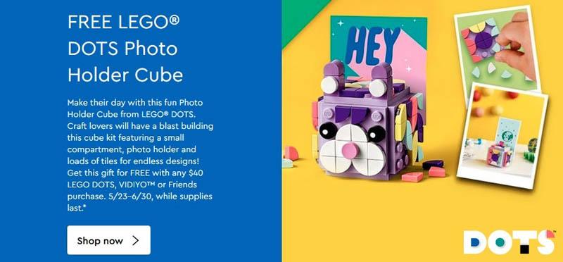 LEGO DOTS Photo Holder Cube