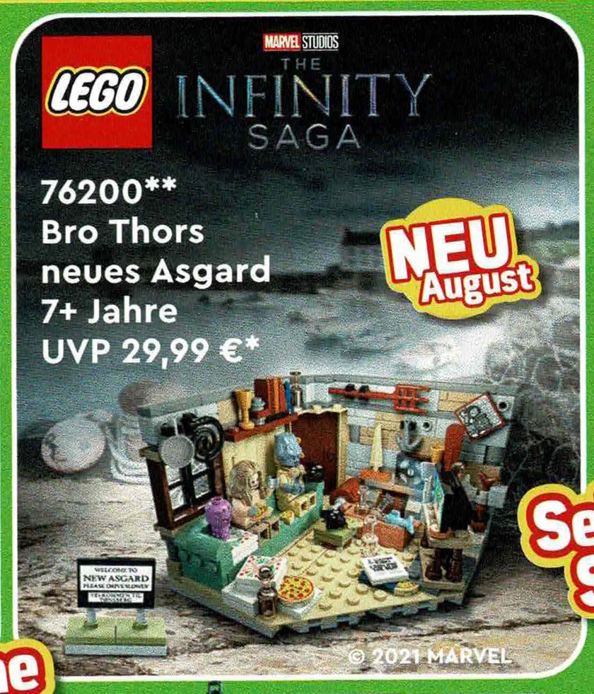 LEGO Marvel Bro Thor's New Asgard