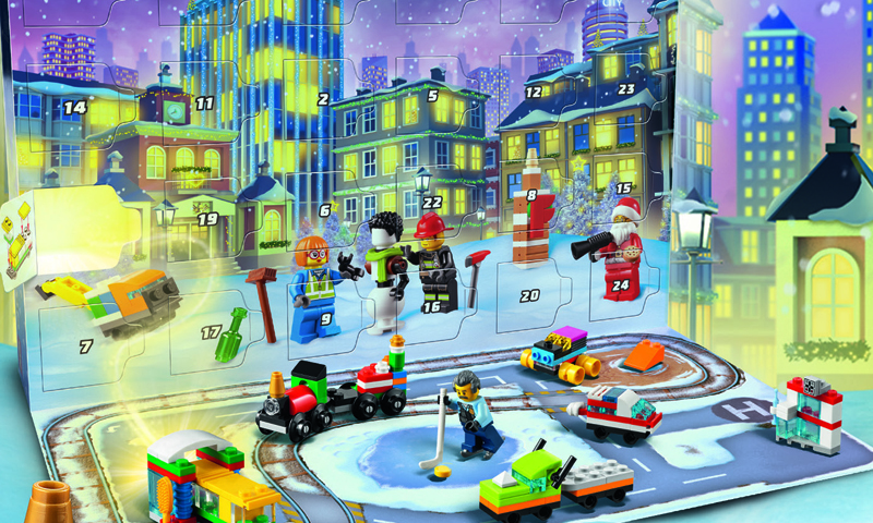 This Year's LEGO City Advent Calendar (60303) Has Been Revealed