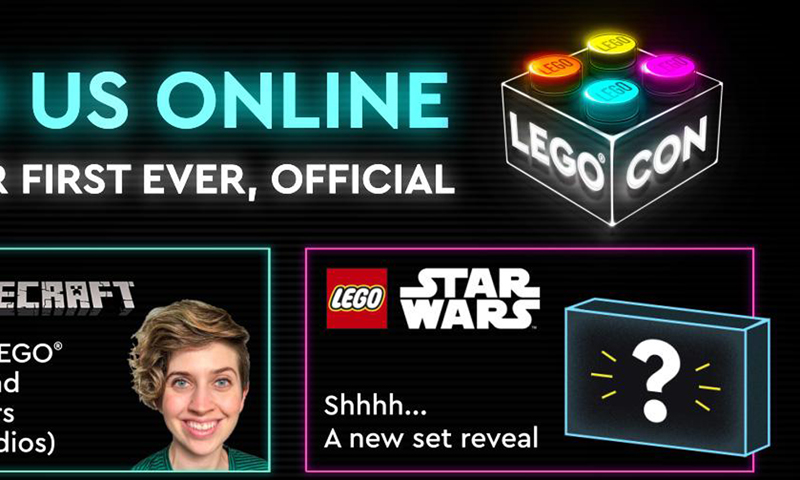 More Details on What to Expect From LEGO CON 2021