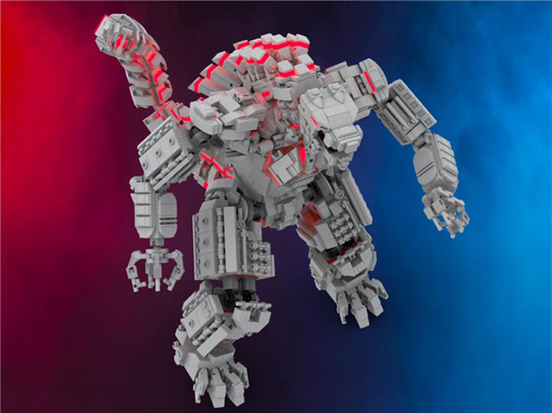 MOC Mondays: This Custom LEGO Mecha Godzilla May Require Two Titans to Bring It Down