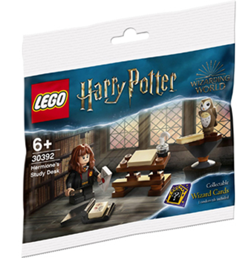LEGO Harry Potter Hermione's Study Desk (30392) Polybag Surfaces