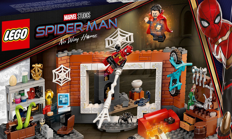 LEGO Marvel Spider-Man: No Way Home Sets Now Listed at LEGO Shop@Home