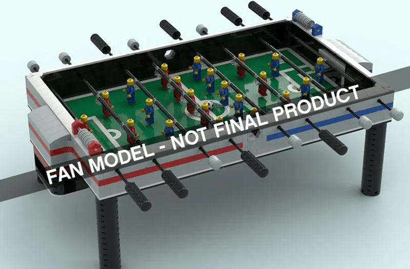 LEGO Ideas Foosball Table Will Be The Next Official LEGO Ideas Set