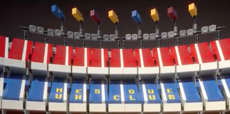 LEGO Releases Official Teaser for Creator Expert Set FC Barcelona-Camp Nou (10284)