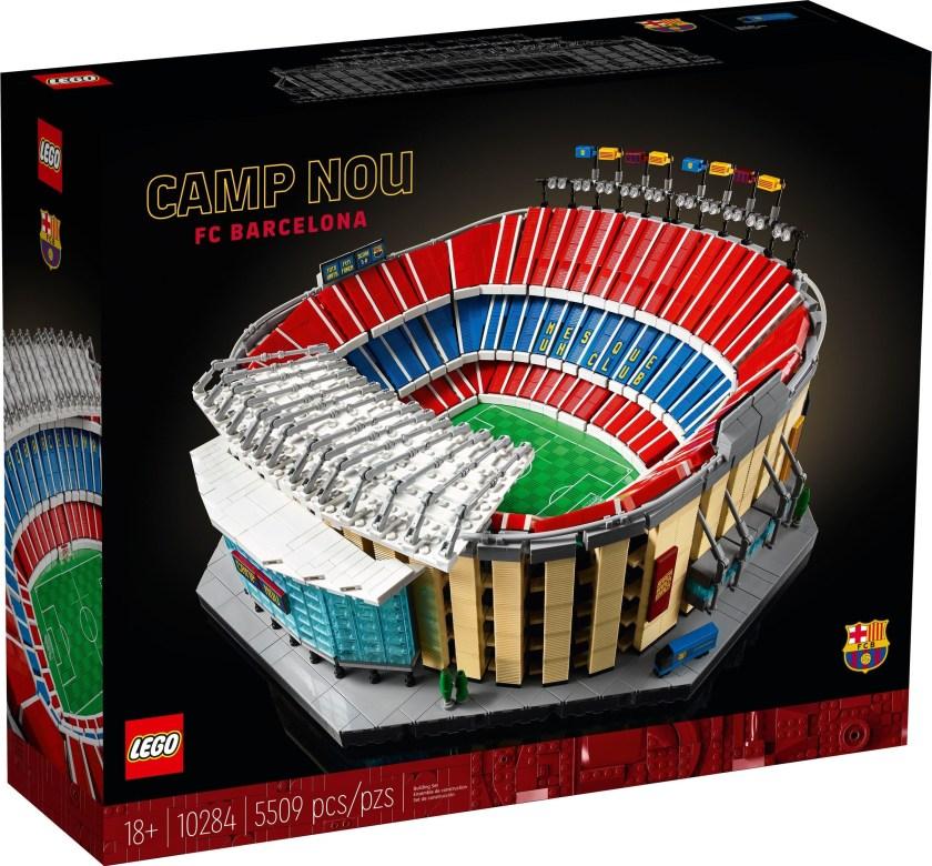 LEGO Creator Expert Camp Nou