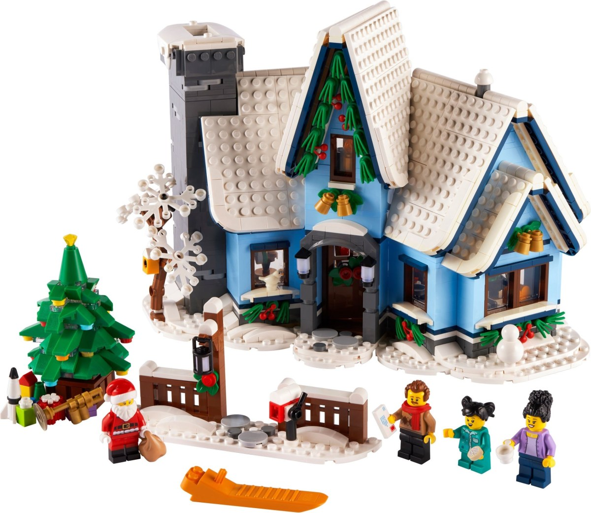 LEGO Santa's Visit (10293) Seasonal Set Now VIP-Available Ahead of October Release
