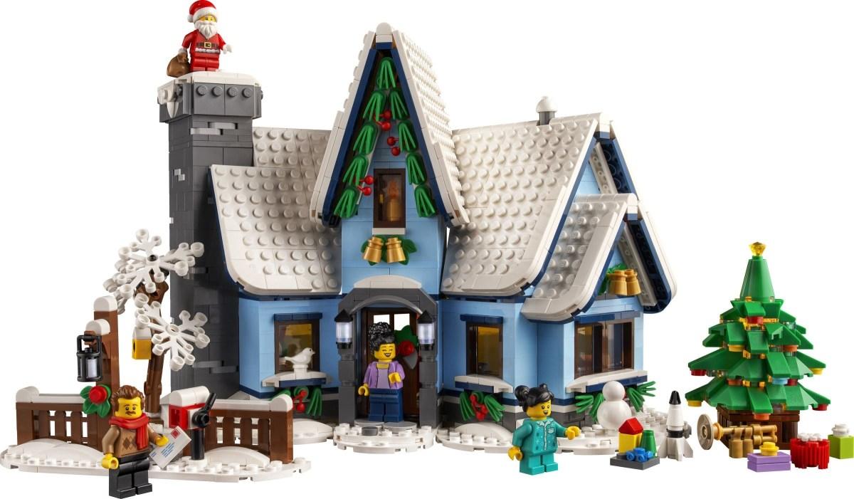 LEGO Creator Expert Santa's Visit (10293) Revealed in LEGO Taiwan, Singapore Websites