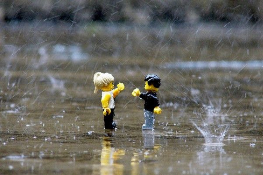 """New LEGO Ideas Activity: Get Your Builds and Minifigs Wet for """"Toy Photography in the Rain"""""""
