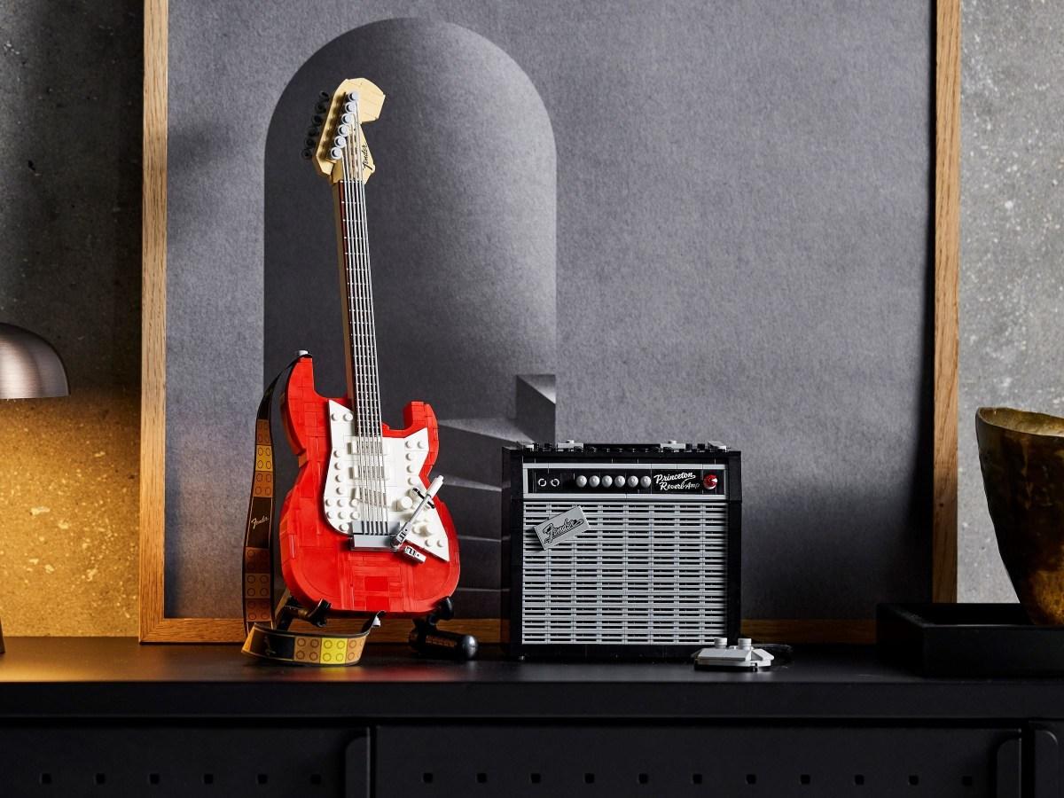 Ideas Designer of Fender Stratocaster (21329) Set Showcased in LEGO Video