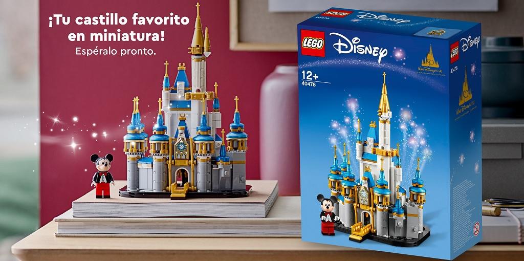 LEGO Stores Mexico Provides Clearer Image of LEGO Mini Disney Castle (40478)